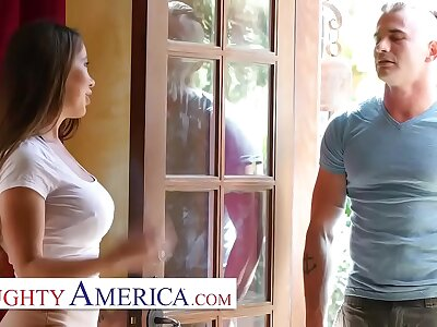 Ill-behaved America - Bianca Garrotte teaches lively together with bonking lessons