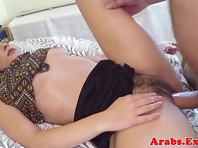 Arabic muslim spoons during sex winning facial