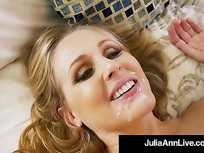 Hot Step Mama Julia Ann Gets Unveil & Naughty with Step Son!