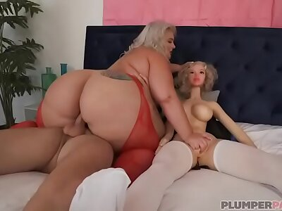 Chubby Booty BBW Tiffany Star Threesome With Mating Bagatelle Sean Lawless