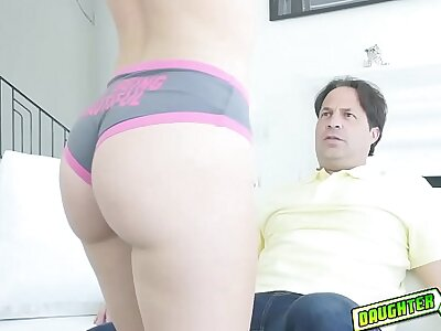 Jayden Black present her pussy with daddy