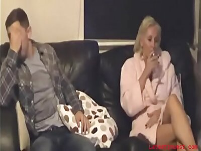 REAL mother caught seducing say no to son by dads nanny cam
