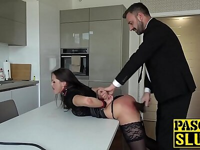 Submissive Barbara Bieber endures hardcore jailing and going to bed
